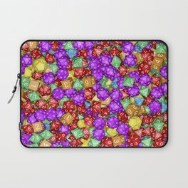 RPG Gamer Dice Laptop Sleeve