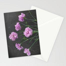 Pinks on Slate Stationery Cards