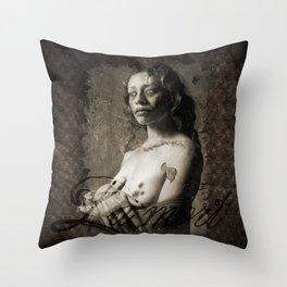 La Mort  Throw Pillow