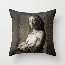 La Mort  Throw Pillow