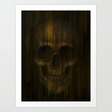 StarLight Skull Art Print