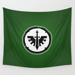 Dark Angels Chapter Badge Wall Tapestry