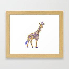 Giraffic Framed Art Print