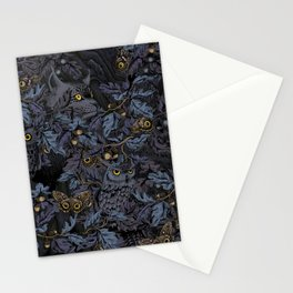 Fit In (moonlit blue) Stationery Cards