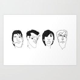 The Smiths Art Print