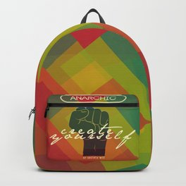 Create Yourself or Society Will Backpack