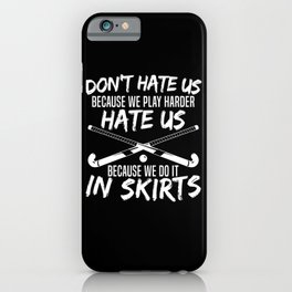 Field Hockey Stick Field Hockey Player iPhone Case