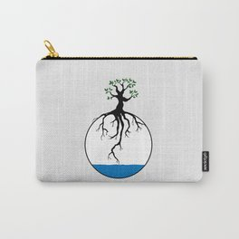 Tree with root in the water Carry-All Pouch