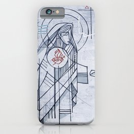 Mary Immaculate Heart iPhone Case