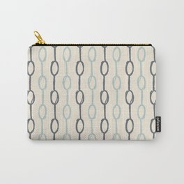 Girly Dot Stripe 4 Carry-All Pouch