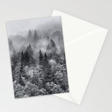 Foggy night Stationery Cards