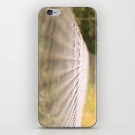Field fence iPhone Skin