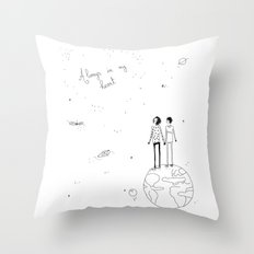 always in my heart 2 Throw Pillow