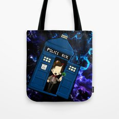 Tardis in space Doctor Who 11 Tote Bag