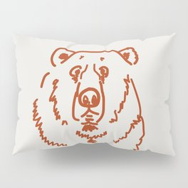 Befuddled Bear Pillow Sham