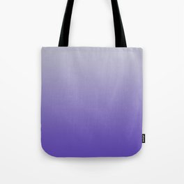 Soft Purple Grey Ombre Tote Bag