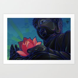 State of the Heart Art Print