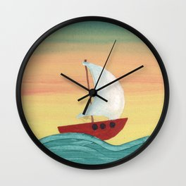 The North Star Wall Clock