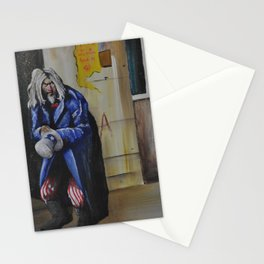 """Spitting Out Pieces of His Broken Luck"" Stationery Cards"