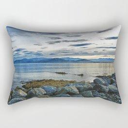Dusk over South Bay, New Zealand Rectangular Pillow