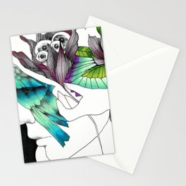 Thoughtfulness by Ong Ngoc Phuong Stationery Cards