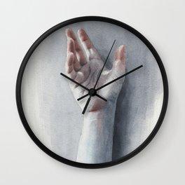 Watercolor study 09 Wall Clock