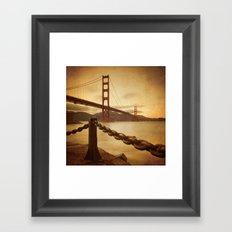 Vintage Golden Gate Framed Art Print