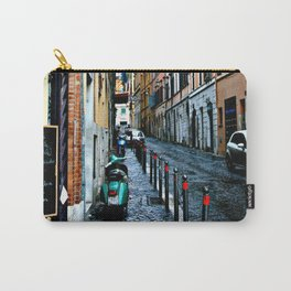 Alley in Rome Italy Carry-All Pouch