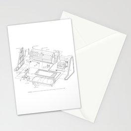 Korg MS-20 - exploded diagram Stationery Cards