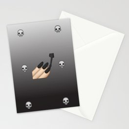 Emoji Goth Stationery Cards