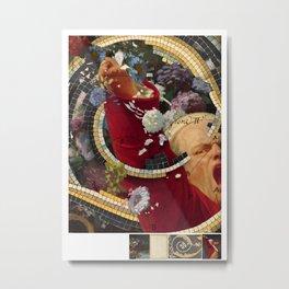 last hurrah for red coat Metal Print