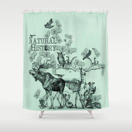 Natural History Shower Curtain