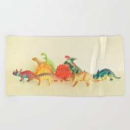 Walking With Dinosaurs Beach Towel