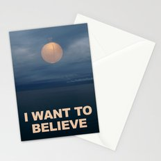 I WANT TO BELIEVE (IKEA) Stationery Cards