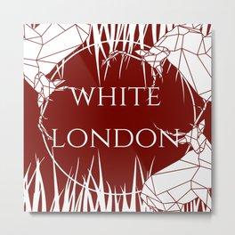 White London Metal Print
