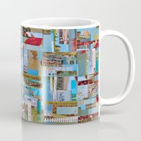 cape cod Mugs featuring Old Cape Cod by Tofu