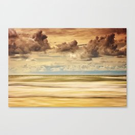 Stormy North Sea Canvas Print