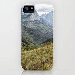 Splendor from Highline Trail - Glacier iPhone Case