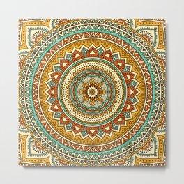 Hippie Mandala 10 Metal Print
