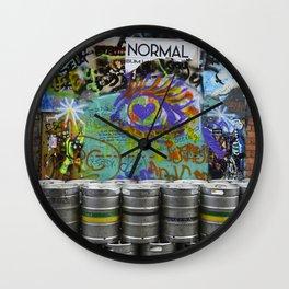 Ireland Graffiti Wall Clock