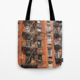 Smoking Window II Tote Bag
