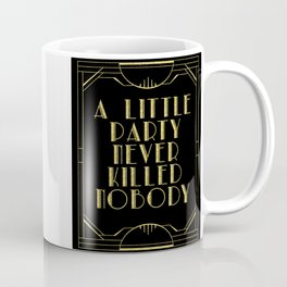 A little party - black glitz Coffee Mug