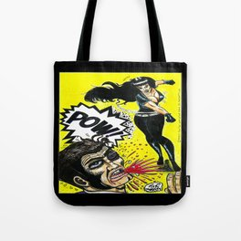 Bad Girls of Motion Pictures #3 - Varla Tote Bag