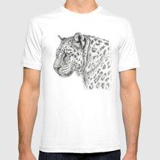 Panthera G013 MEDIUM White Mens Fitted Tee
