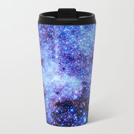 GAlaxy Periwinkle Stars Travel Mug