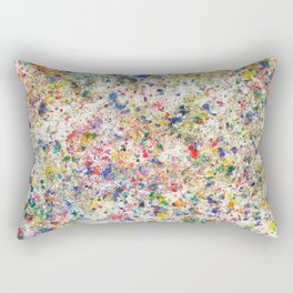 Abstract Artwork Colourful #7 Rectangular Pillow
