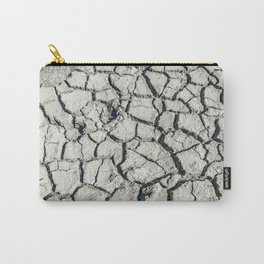 Parched land of Camargue Carry-All Pouch