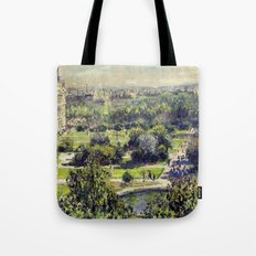 The Tuileries by Claude Monet Tote Bag