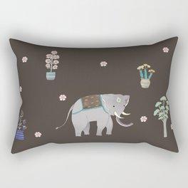 thai elephant  Rectangular Pillow