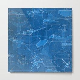 Aerodynamics Metal Print